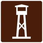 RG-140 Lookout Tower Signs