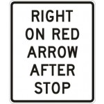 Right on Red Arrow After Stop R10-17a