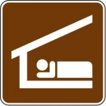Sleeping Shelter Signs RS-037