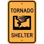 Tornado Shelter Sign AR-733