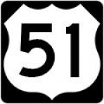 US Numbered Route Sign M1-4