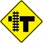 Highway-rail Grade Crossing W10-4L