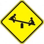 W15-1 Playground Signs