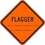 W20-7 Flagger