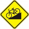 Bicycle Hill Sign