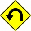 Hairpin Curve Sign