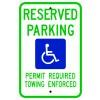 Arkansas Handicap Parking Sign