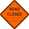 Road Closed (distance) Sign