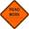 Road Work (distance) Sign