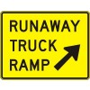 Runaway Truck Ramp (exit) Sign