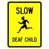 Slow Deaf Child Sign