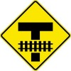 Storage Space Railroad Crossing Sign