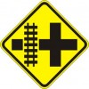 Parallel Railroad Crossing Sign