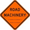 Road Machinery (distance) Sign