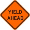 Yield Ahead Sign
